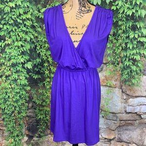 TRINA TURK V-Front Jersey Dress, 2/Small